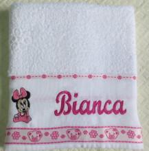 toalha com nome berdado