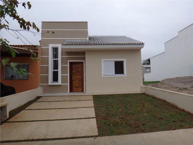 fachada simples de casa