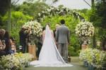 casamento feito ao ar livre