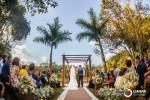 casamento bonito ao ar livre