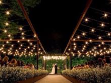 casamento a noite ao ar livre