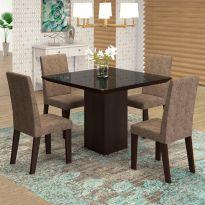 mesa bonita de jantar 4 lugares