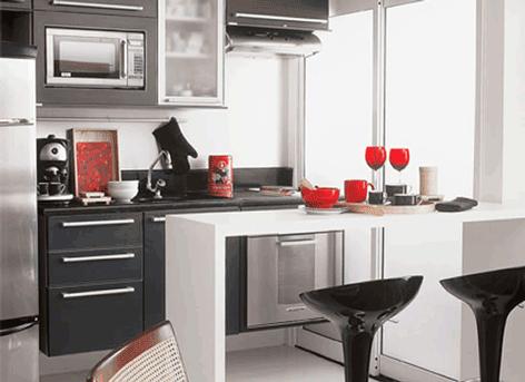 cozinha pequena com decoracao